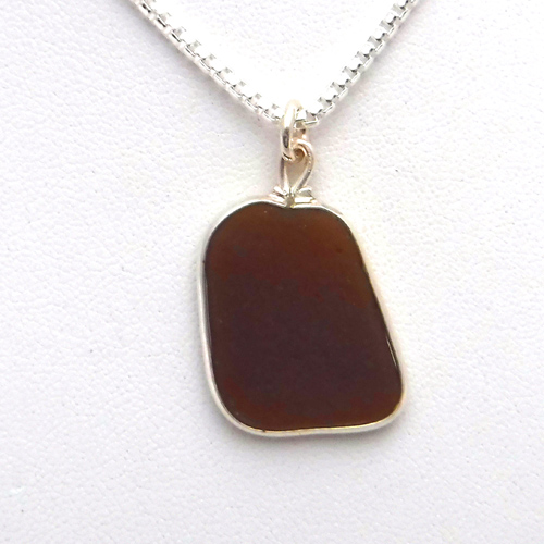 brown sea glass 1