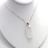 white sea glass necklace 5