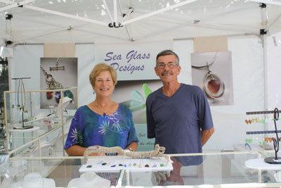 Handmade Sea Glass Jewelry - Bruce and Gail