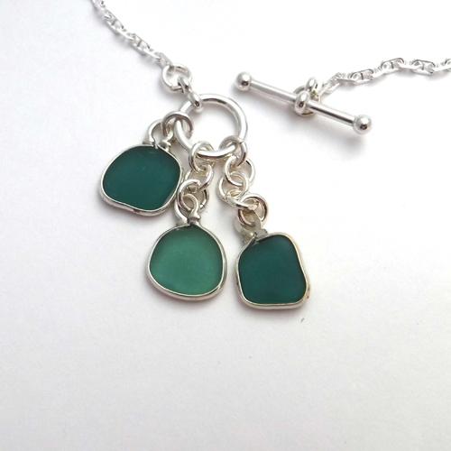 teal 3 piece necklace 1