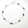 blue round necklace3