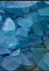 Dollar Store Faux Sea Glass
