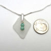 white sea glass necklace 3