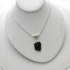 black necklace 3
