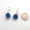 turquoise sea glass earrings 5