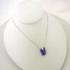 cobalt blue necklace with cross 5