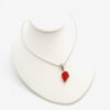 red sea glass necklace 3