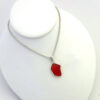 red sea glass necklace 5