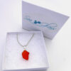 red sea glass necklace 7