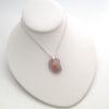 lavender sea glass necklace 5