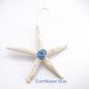 cornflower blue sea glass starfish 1