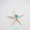 turquoise sea glass starfish 1