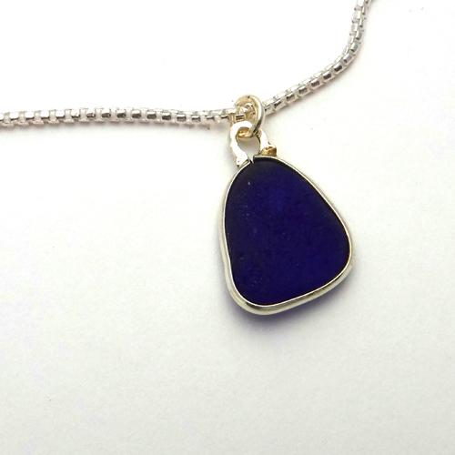 cobalt blue sea glass 1