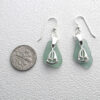 green earrings with sailboats 3