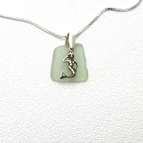 sage green necklace 1