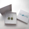 sage green sea glass earrings 7
