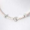 white pearl sea glass necklace 3