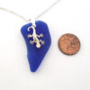 cobalt sea glass with geicko 3