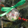 green christmas ornaments 1