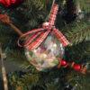 plaid Christmas balls 1
