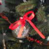 red christmas tree ornament 1
