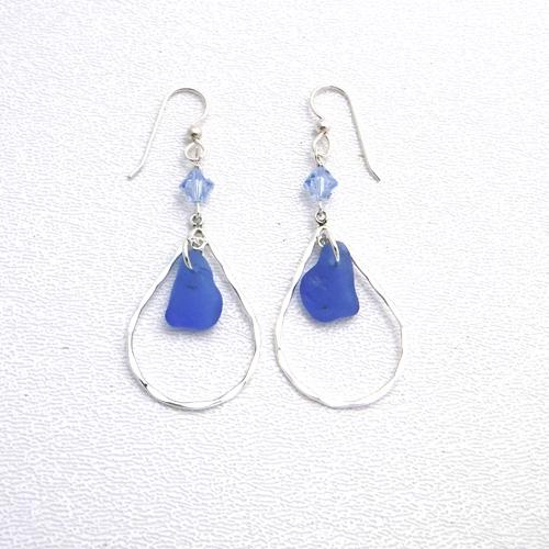 cornflower blue earrings 3
