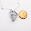 Dainty pottery necklace 3