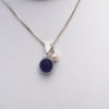 blue sea glass necklace 3