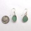 sage green sea glass earrings3