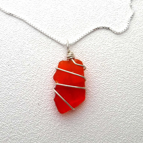 red sea glass 1