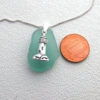 turquoise charm necklace 3