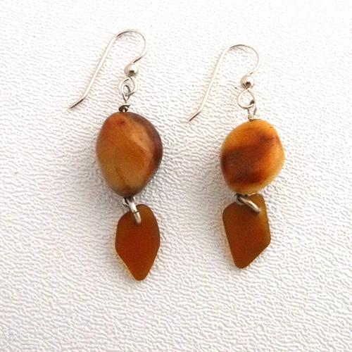 brown earrings 1