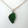 green sea glass necklace 11
