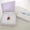 lavendar sea glass necklace 7