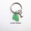 lime green keyring 1