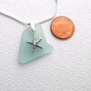 mint green necklace with starfish 3