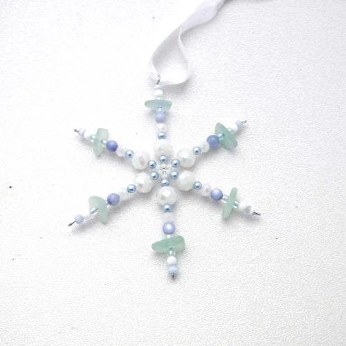 new blue snowflake 1