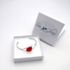 red sea glass bracelet 3