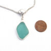 turquoise sea glass necklace 2