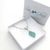 turquoise sea glass necklace 7