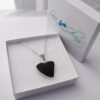 black sea glass necklace 5