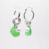 green earrings 3