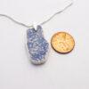 sponge ware pottery necklace 3