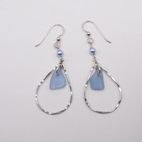 cornflower earrings 3