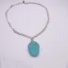 bezeled necklace 3